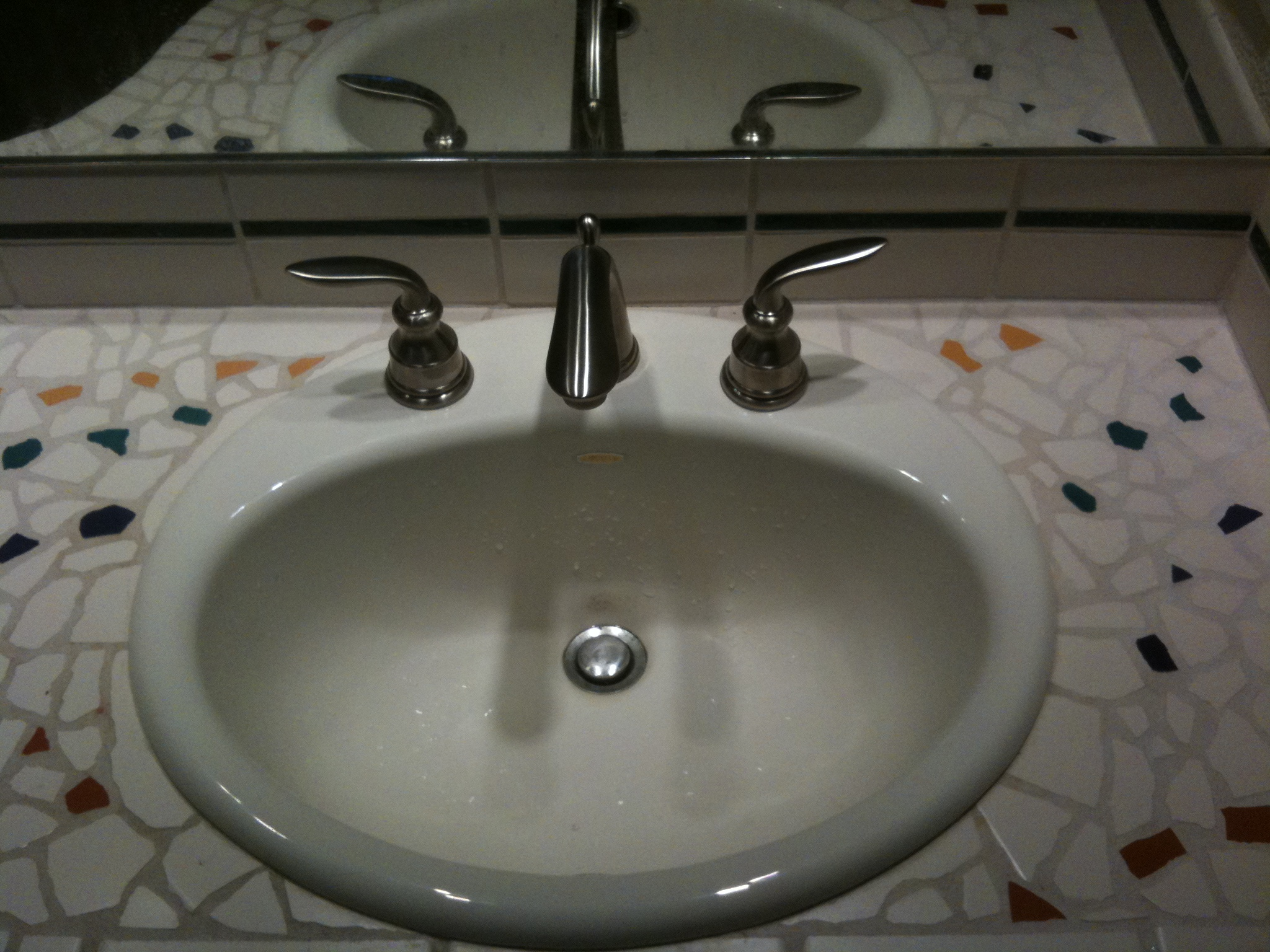 Replace Bathroom Sink : Replace Bathroom Sink Faucet Knobs Picture With Bathroom Sink Strainer ...
