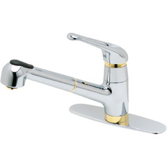 Price Pfister Kitchen Faucet Pull Out Brushed Nickrl